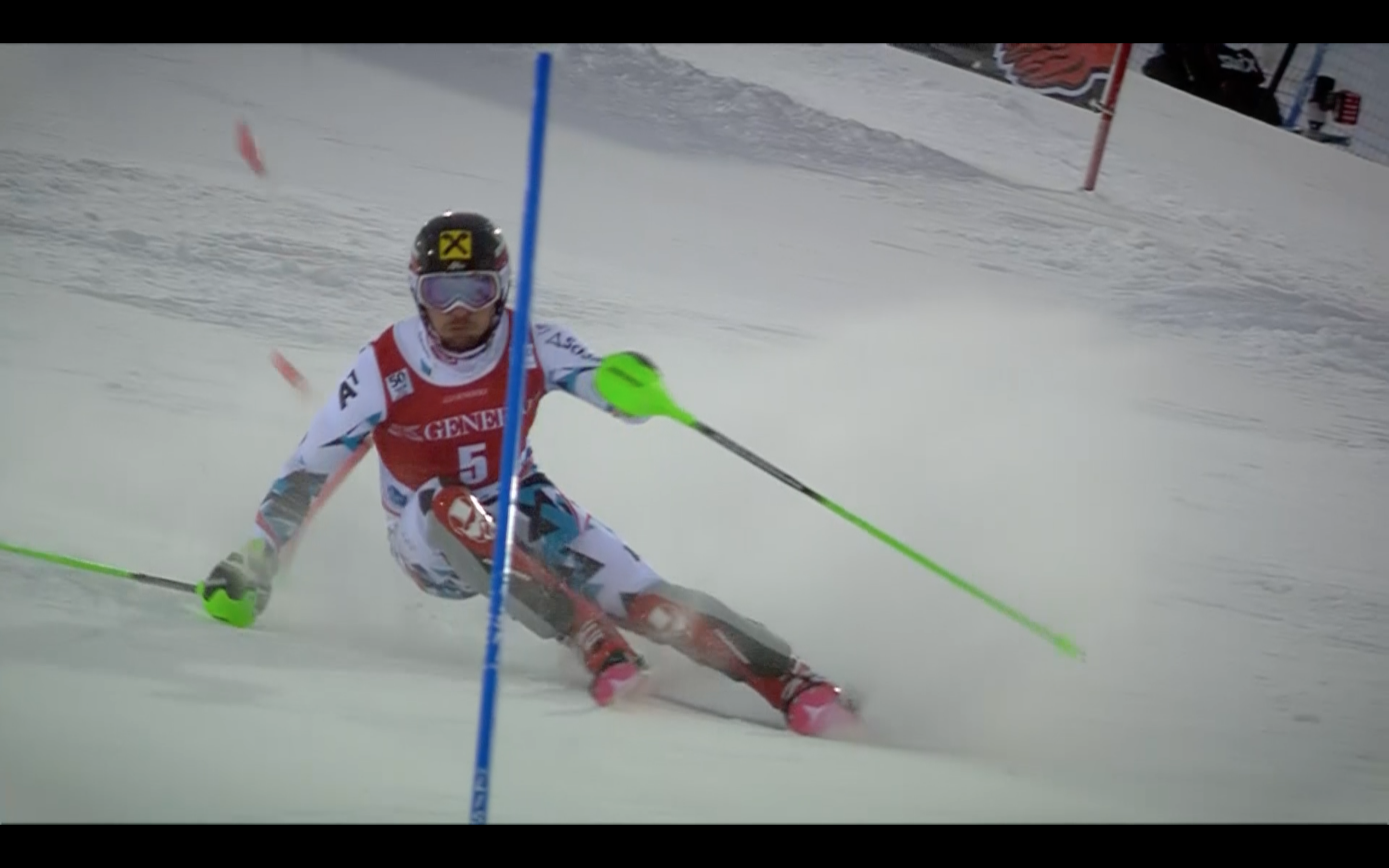 13 Nov, Levi (FIN) Men's Slalom - Run 2 Marcel Hirscher