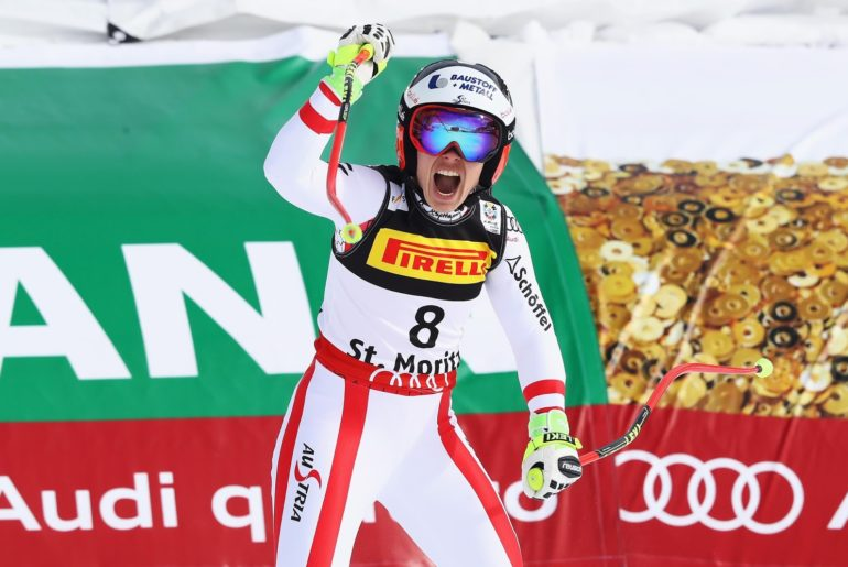 Nicole Schmidhofer wins super-G