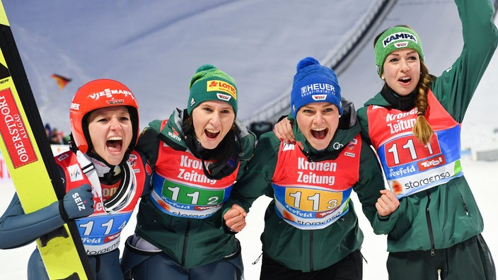 Germany Ladies Ski Jumping Team