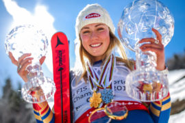 Is Mikaela Shiffrin set to be world's greatest skier?